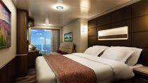 Mini suite con balcón grande