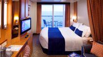 Camarote Superior Exterior con Balcón y Vistas al Mar