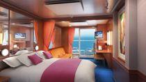 Mini suite con balcón, centro