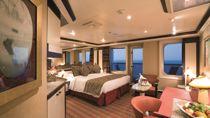 Cabine Suite Samsara vue mer avec véranda et jacuzzi