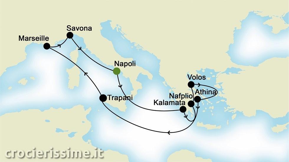 MEDITERRANEO da Napoli