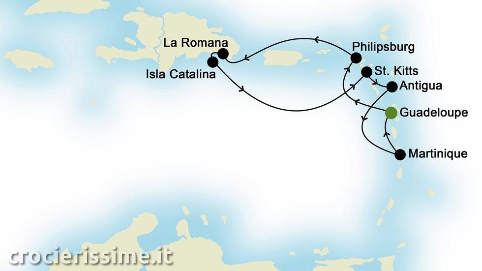 ISOLE CARAIBICHE da Guadalupa