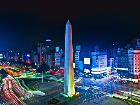 Crociera di lusso in Argentina, Brasile e Uruguay