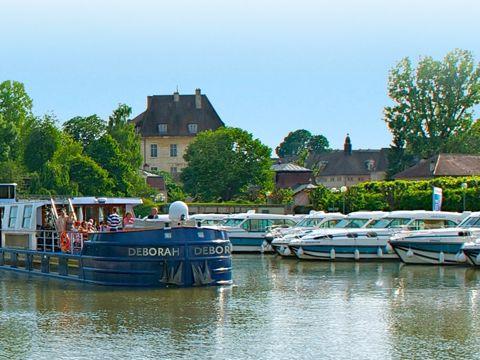 Crucero por los canales del Loira